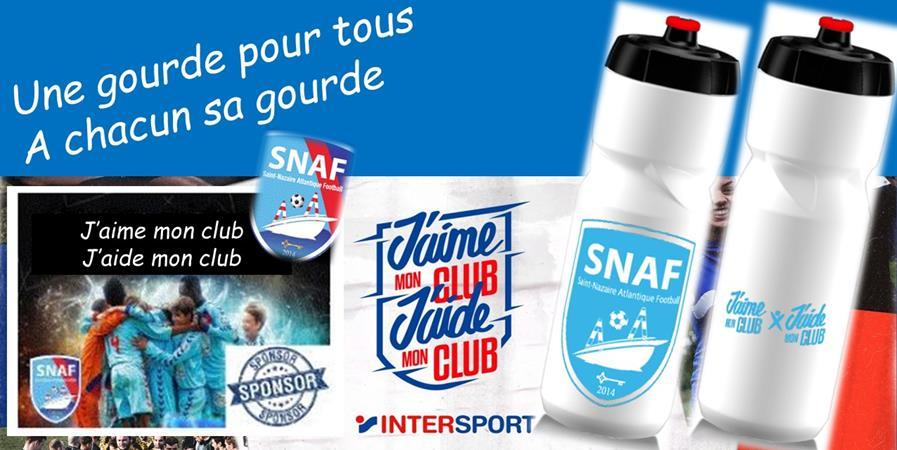 Une gourde pour tous et chacun sa gourde ! # J'aime mon club - Saint Nazaire Atlantique Football