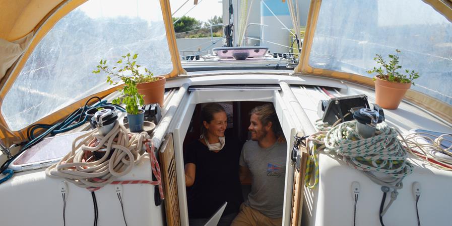 Une transatlantique à la voile pour sensibiliser à la réduction des déchets - Green Sailing
