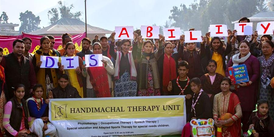Handimachal - Centre de soins pour enfants handicapés, Kullu (Himalaya indien) - Maison des Himalayas