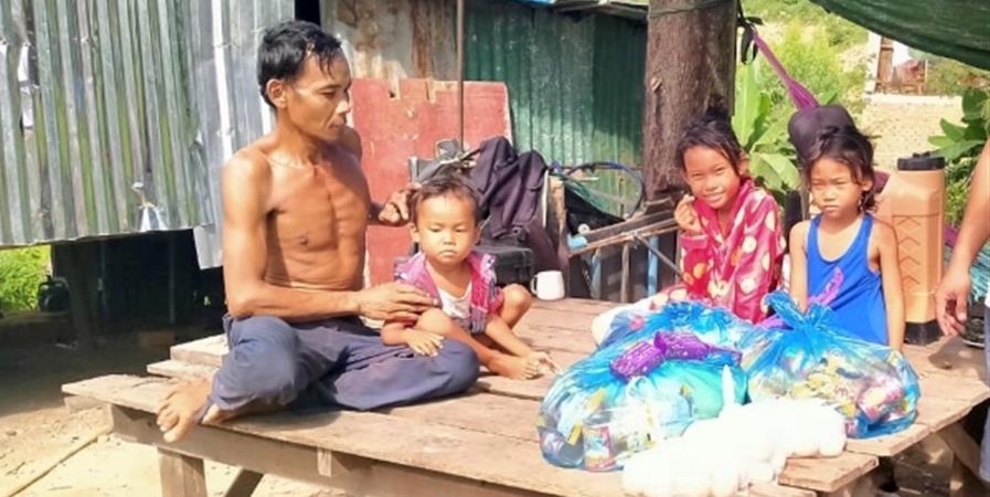 COVID-19  Aide alimentaire aux familles de Klang Leu - Les Enfants de Klang Leu