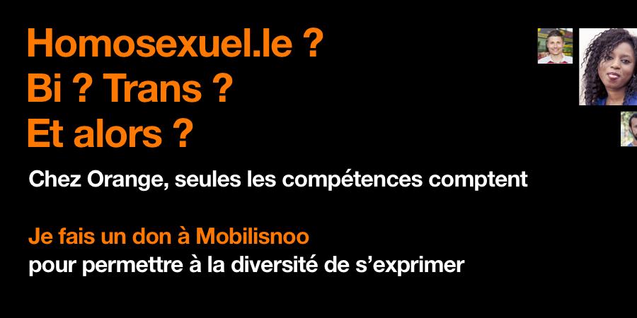 Chez Orange, seules les compétences comptent ! - Mobilisnoo