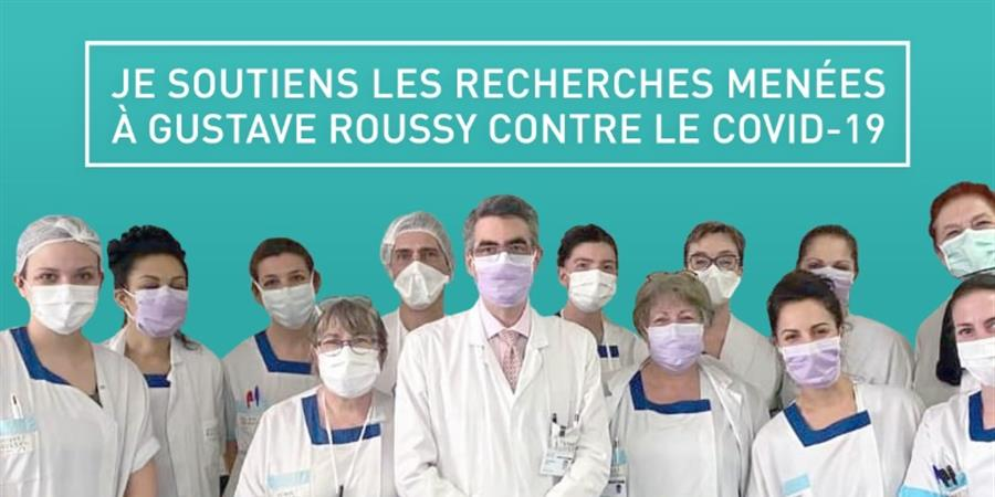 Accélérez les recherches contre le covid-19 - La Fondation Gustave Roussy