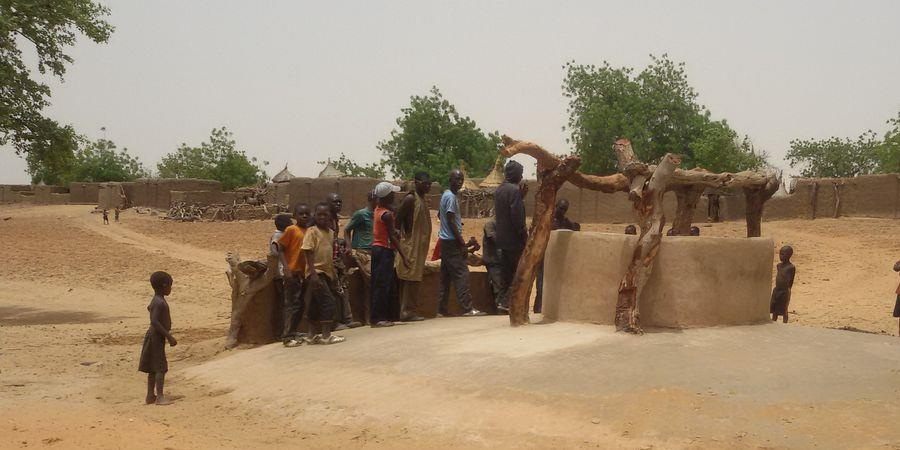 Financement d'un puits de grand diamétre au village de Balkéré MALI - Via Sahel Muret