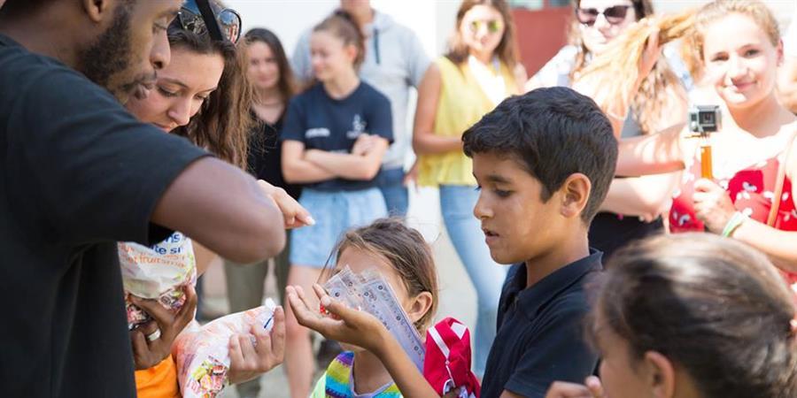 Projet humanitaire pour les enfants d'Europe de l'Est - Europ'Raid 2018 - LES DÉ'JANTÉS