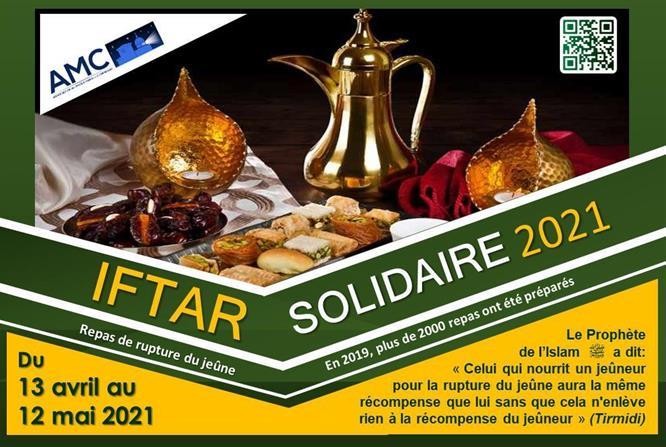 IFTAR SOLIDAIRE 2021 - ASSOCIATION DES MUSULMANS DE COMPIEGNE