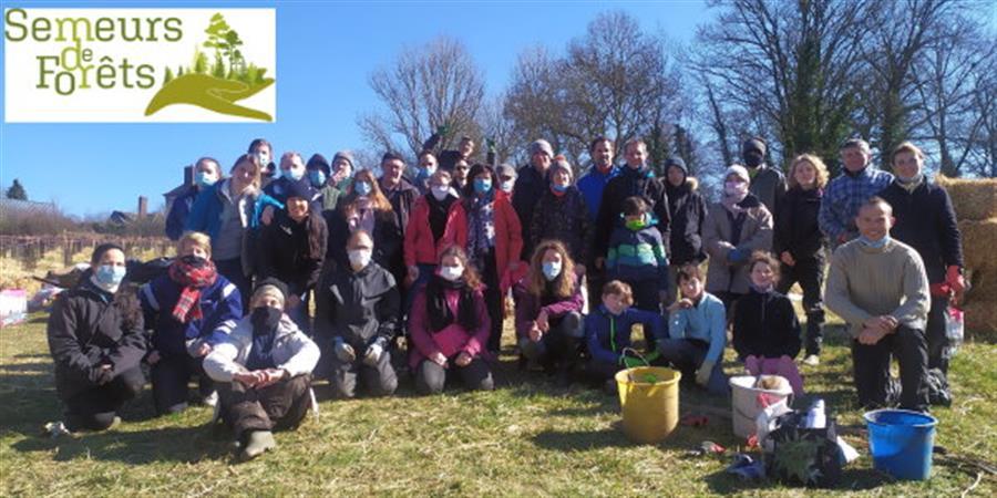 Achat d'un terrain dans la Vienne pour y planter une forêt - Semeurs de Forêts