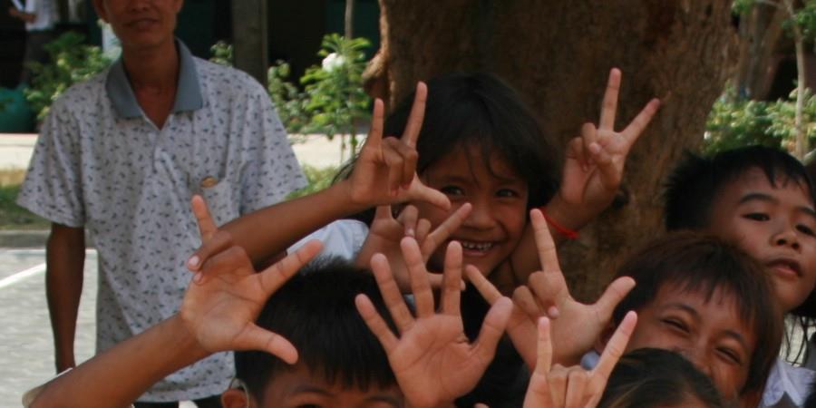 Amplifon court pour les Enfants Sourds du Cambodge - Les Enfants sourds du Cambodge
