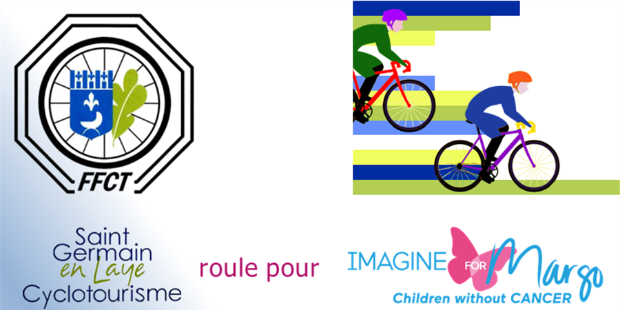 SAINT GERMAIN CYCLO ROULE POUR MARGO - IMAGINE FOR MARGO- Children without cancer