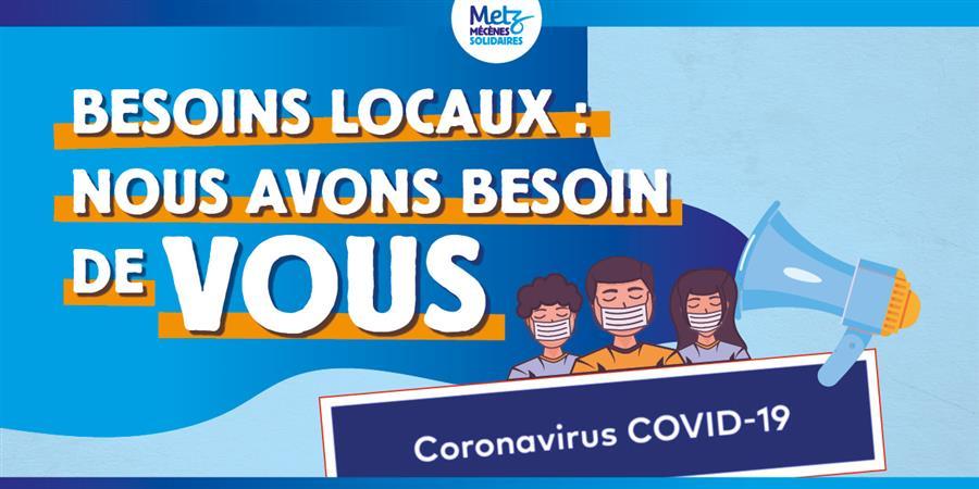 Covid-19 : envie d'agir utilement ? - Metz Mécènes Solidaires