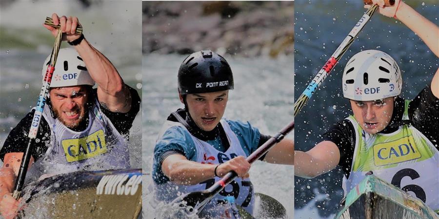 Aidez nos trois champions du Monde Tony, Louis et Hélène - Canoë-kayak Club Pont-Réan
