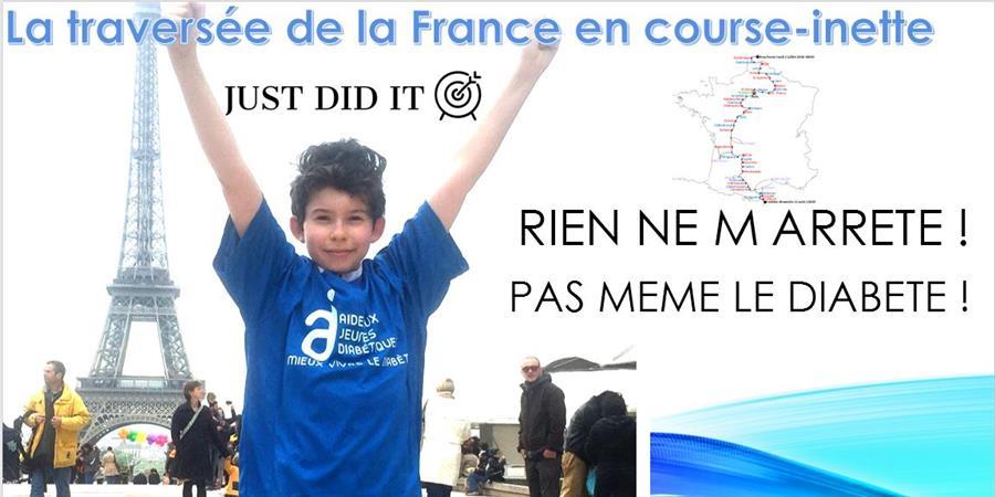 DEFI TRAVERSEE FRANCE - JUST DID IT