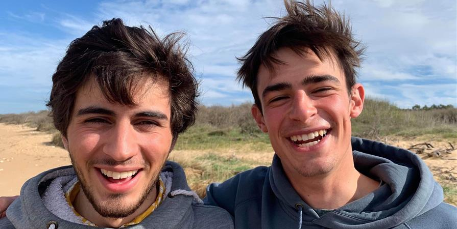 4L Trophy 2020 - Clément RAVOTEUR et Marin LAURENT - Les Blouses Brothers   - LES BLOUSES BROTHERS
