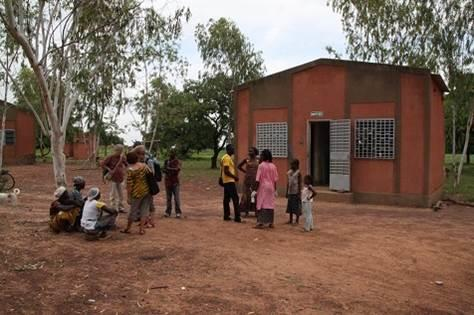 Construction d'une maison pour le dispensaire de Bissanderou (Burkina faso) - Association Bissandérou