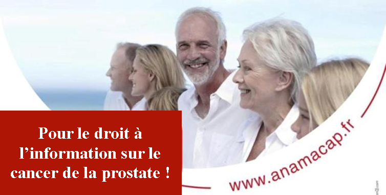 Septembre : mois de sensibilisation au cancer de la prostate - ANAMACaP Association Nationale des Malades du Cancer de la Prostate