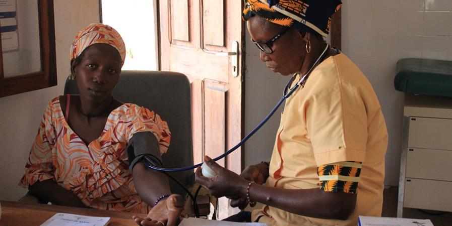 Soutien à la Maison Médicale de Wassadou - Première Urgence Internationale