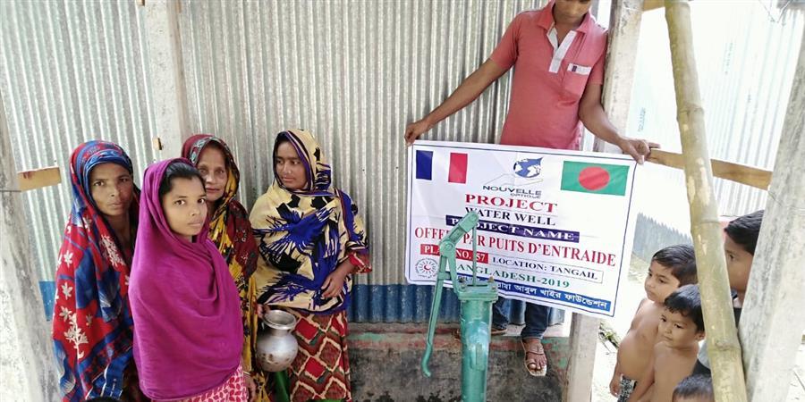 Financement d'un forage au Bangladesh - Puits D'entraide
