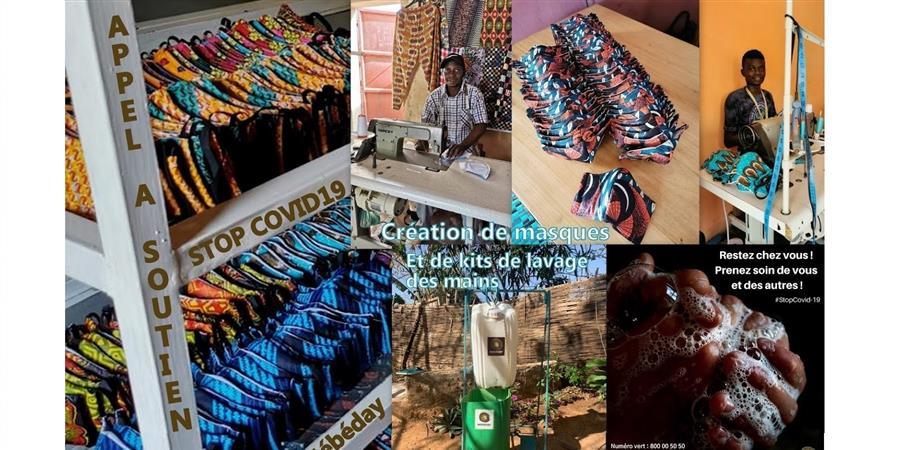 Risposte Covid-19 Nébéday au Sénégal - Les Amis de Nébéday