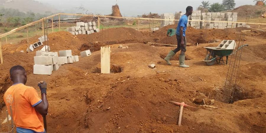 Chantier Orphelinat POO NKWE'NI à Bafang au Cameroun - Association Nkwe'ni