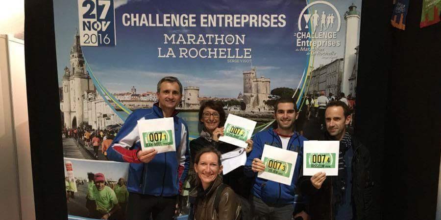 Marathon de la Rochelle au profit du service de cardiopédiatrie du CHU Bordeaux - PETIT COEUR DE BEURRE