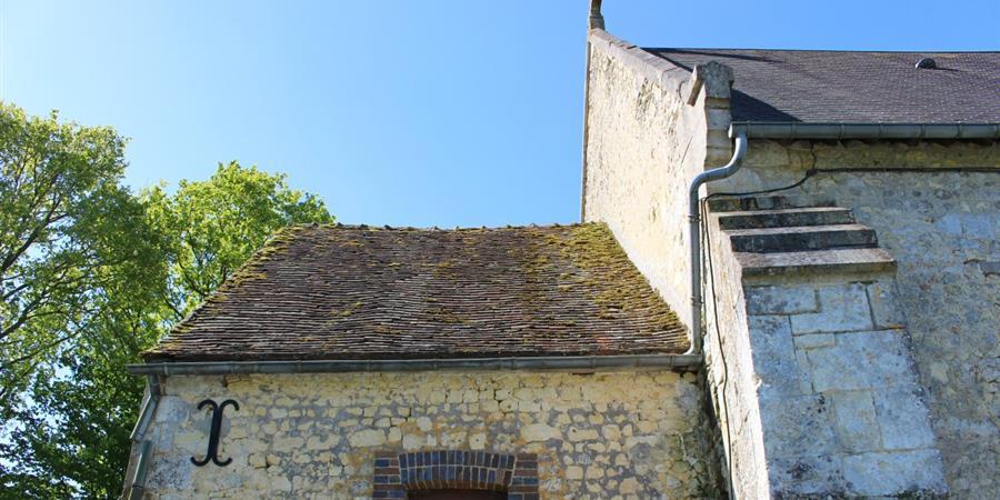Travaux sur l'église de Saint-Quentin-de-Blavou - ASSOCIATION DE SAUVEGARDE DU PATRIMOINE DE SAINT QUENTIN DE BLAVOU