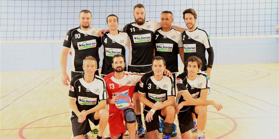 La Team Bichons dans l'Aveyron - Bourges Volley