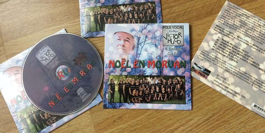 CD Noël en Morvan - POLE VOCAL DU COLLEGE VICTOR HUGO
