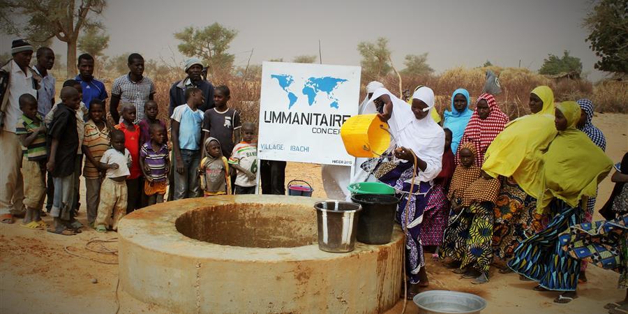 Construction de 2 puits communautaires au Niger - ummanitaire concept