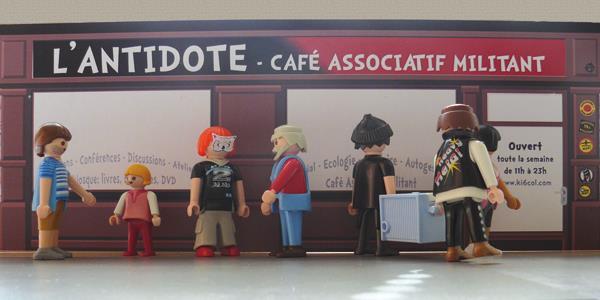 Café associatif l'Antidote à Bourges - Ki-6-col'