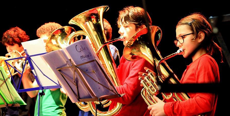 Ecole Lyonnaise des Cuivres - Classe Orchestre au Collège Clément Marot - Ecole Lyonnaise des Cuivres