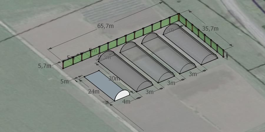 Filets brise-vent pour nos futures serres de maraichage bio  - AMAP des Jardins de la Chaudeau