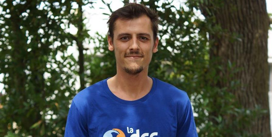 Gilles, professeur de français au Honduras - Délégation Catholique pour la Coopération