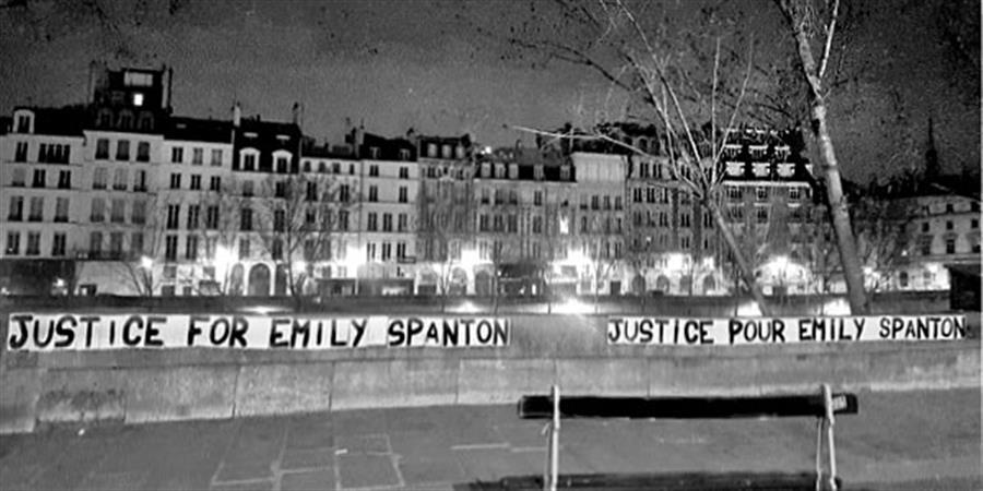 Soutien à Emily Spanton - Collectif Les Grenades
