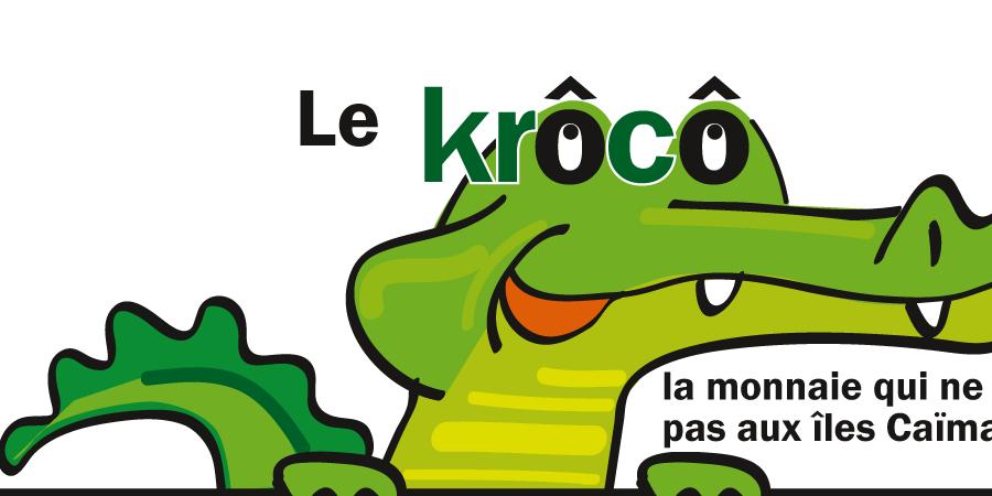 Soutien au lancement de la monnaie locale de Nîmes : Le Krôcô - Les Vrais Monnayeurs de Nîmes et alentours