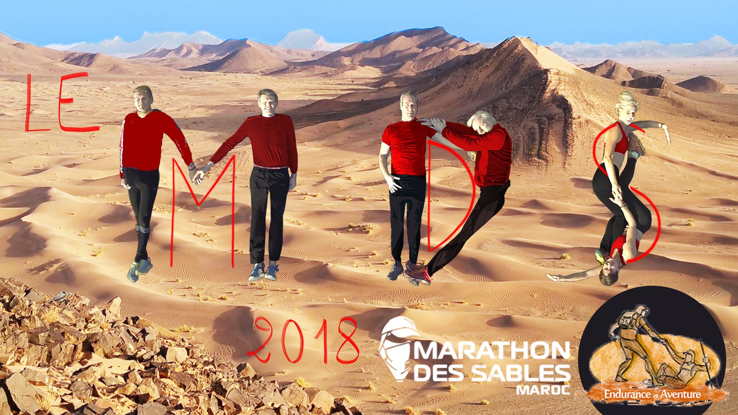"""Marathon des sables 2018  """"Agissons pour Cécile"""" - ENDURANCE & AVENTURES"""