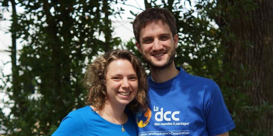 Constance et Adrien à Madagascar - Délégation Catholique pour la Coopération