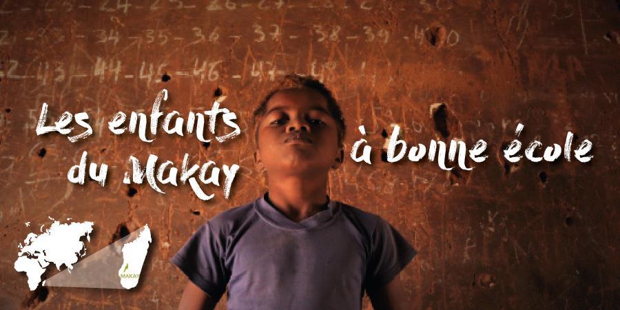 Les enfants du Makay à bonne école - Naturevolution