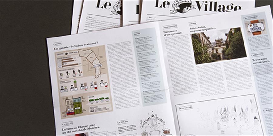 Le Village | Journal du quartier de Saint-Aubin - Bien vivre a saint aubin