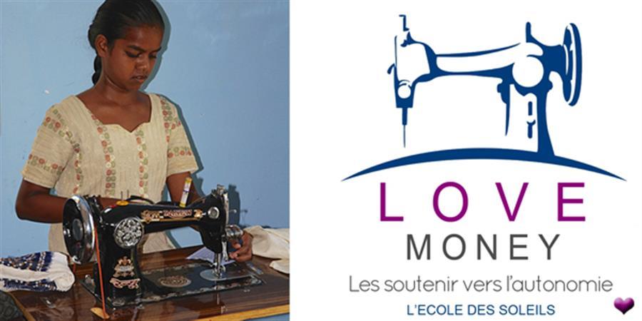 LOVE MONEY (machines à coudre) - L'Ecole des soleils