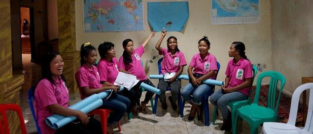Camille, enseignante animatrice au Timor - Délégation Catholique pour la Coopération