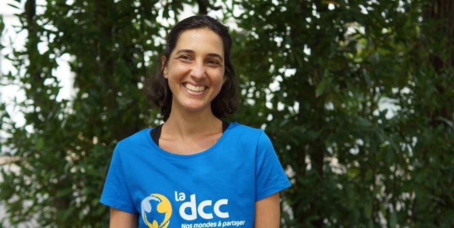 Emmanuelle, coordinatrice pêche durable au Congo - Délégation Catholique pour la Coopération
