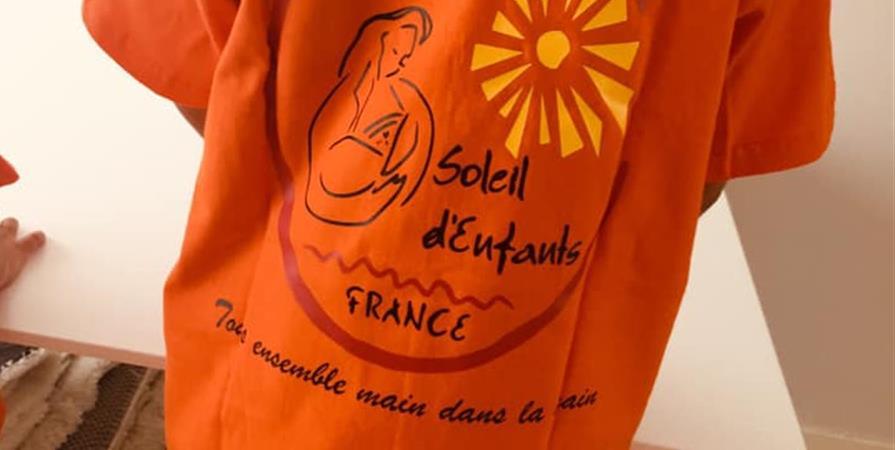 Maillot personnalisé - Association Soleil d'Enfants France