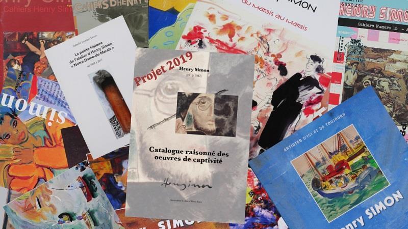 Henry Simon | Catalogue raisonné des oeuvres de captivité - Association les Amis d'Henry Simon