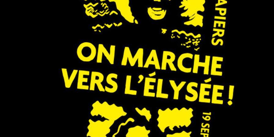 Voyage Marseille-Paris - Marche nationale des Sans-Papiers - 17 Octobre - AL MANBA