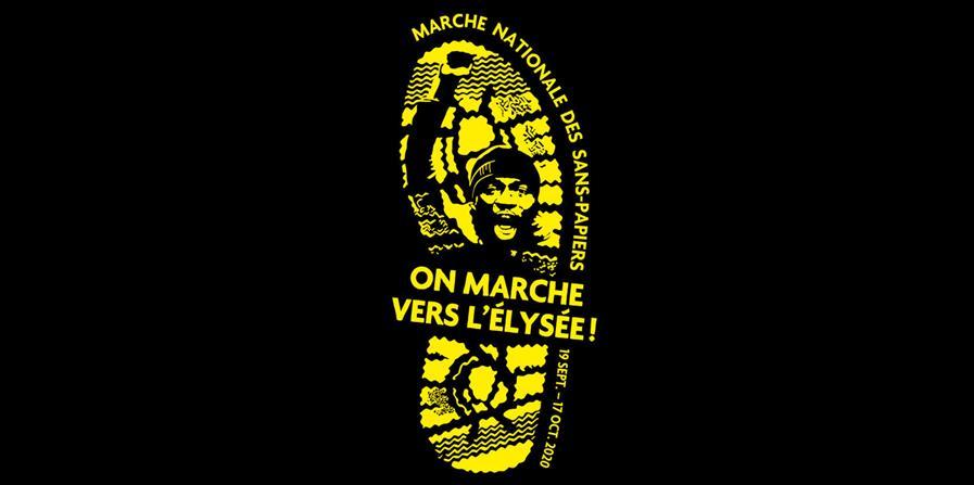 Marche nationale des sans papiers Grenoble - Les amis du RUSF38