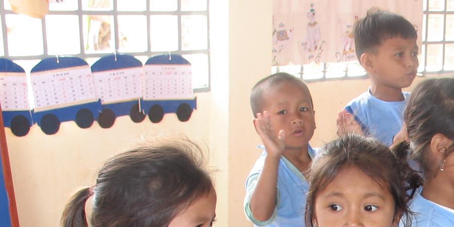 Centre de Ressources de la Petite Enfance au Cambodge - Planète Enfants & Développement