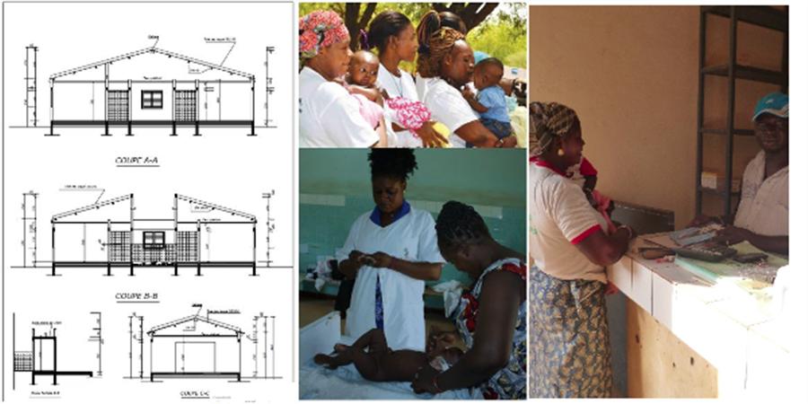 Construction d'une maternité au  Burkina Faso - Via Sahel Muret