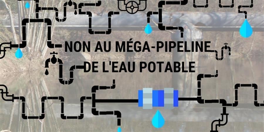 NON au méga-pipeline de l'eau potable - EAU & RIVIERES DE BRETAGNE