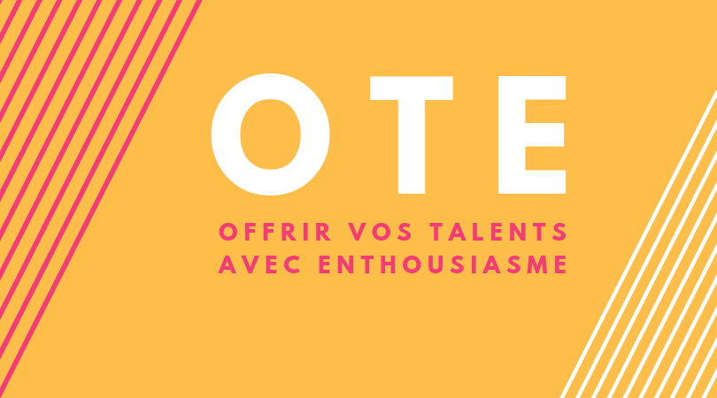 Offrir vos Talents avec Enthousiasme  - HAPPY NEXT DOOR