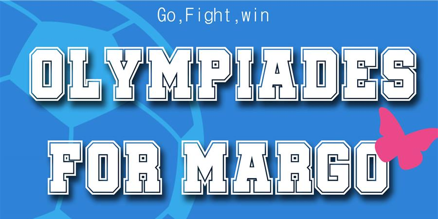 Olympiades for Margo #5 - IMAGINE FOR MARGO- Children without cancer