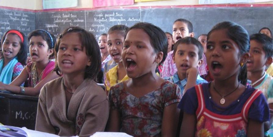 François et Marie-Aurélie en Inde - Délégation Catholique pour la Coopération